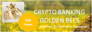 CRYPTO BANKING $BEEPower GOLDEN BEES ...